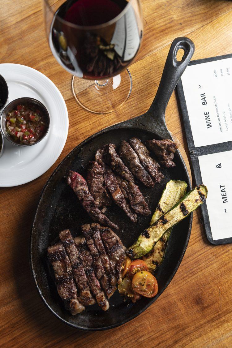 #Saboreando lo último en Carne & Vino.