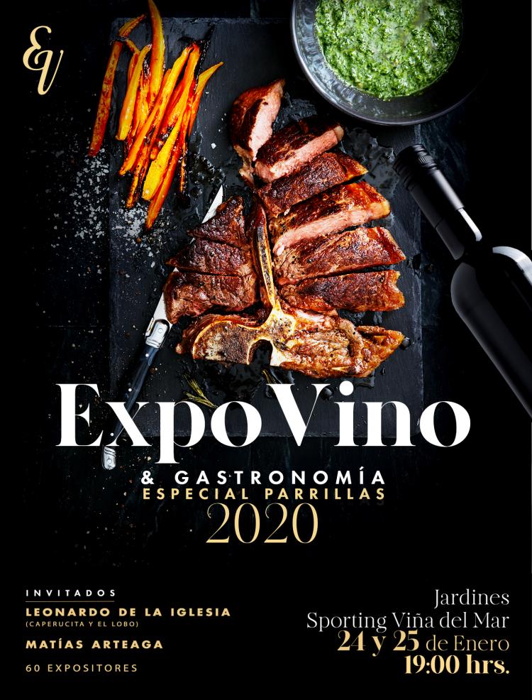 #ChileEsFiesta con la nueva versión de Expovinos & Gastronomía.