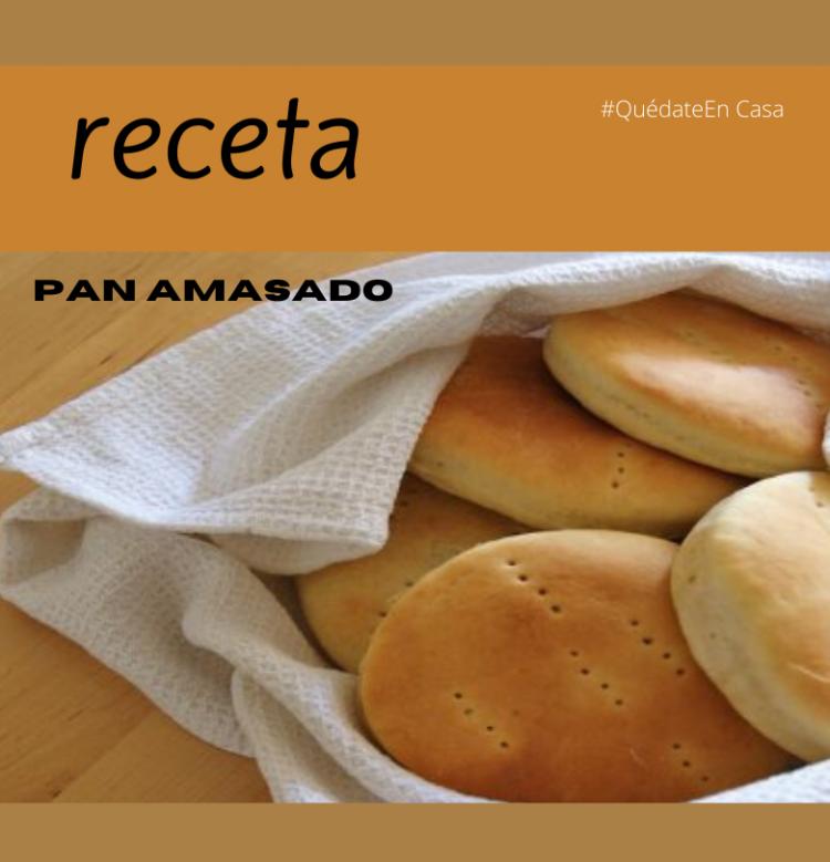 #Saboreando un Receta de Pan Amasado.